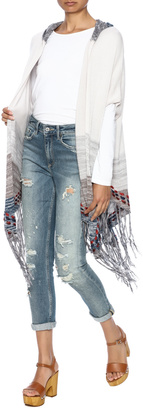 Lovestitch Poncho Style Sweater $46 thestylecure.com