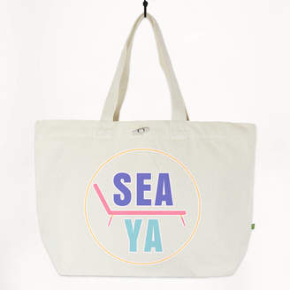fcb3929c5 Batch1 Sea Ya Women's Oversized Organic Beach Tote Bag