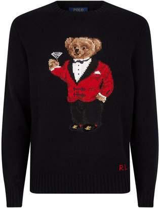Polo Ralph Lauren Bear Martini Sweater