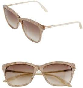 Brian Atwood 55mm Lace Square Sunglasses