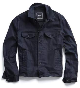 Todd Snyder Cotton Twill Dylan Jacket in Navy