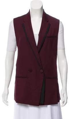Diane von Furstenberg Sleeveless Vest Jacket