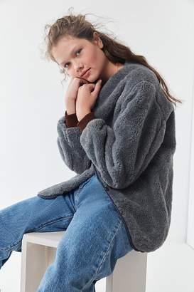 Urban Renewal Vintage Cozy Teddy Liner Jacket