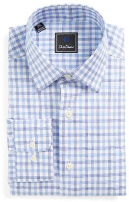 Men's Big & Tall David Donahue Regular Fit Check Dress Shirt $135 thestylecure.com