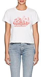 RE/DONE Women's The Classic Cotton Crop T-Shirt - White
