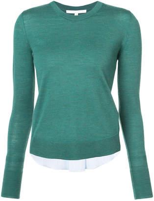 Veronica Beard long sleeved knit top
