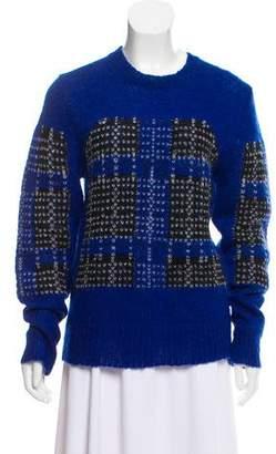 Thakoon Lightweight Mohair-Blend Sweater