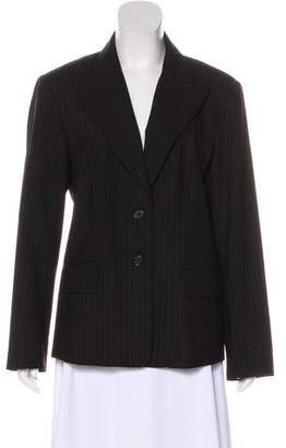 MICHAEL Michael Kors Striped Wool Jacket