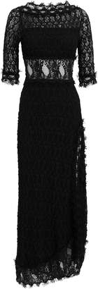 Nightcap Clothing Florence Black Lace Gown