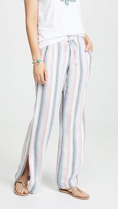 Bella Dahl Side Slit Wide Leg Pants