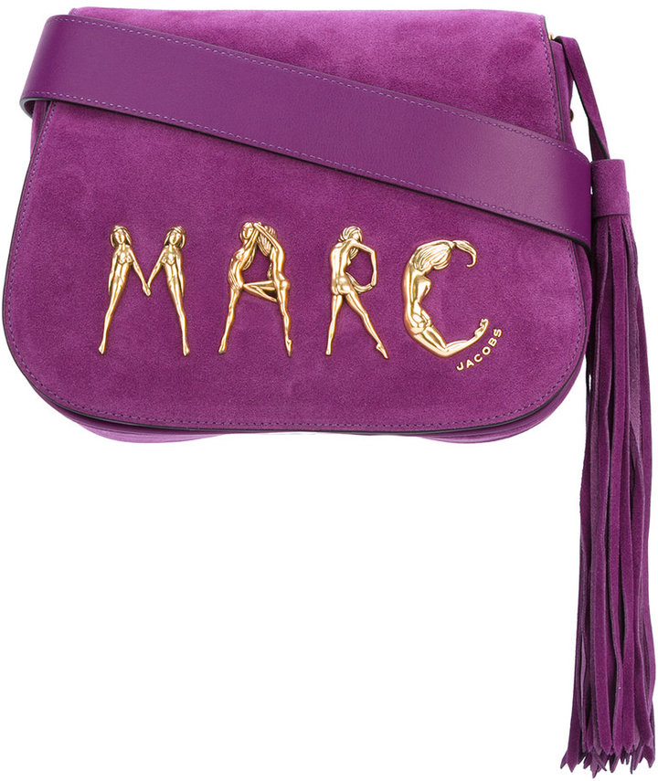 Marc Jacobs Marc Jacobs figure logo shoulder bag