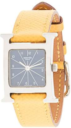 Hermes Pre-Owned 1997 H square watch
