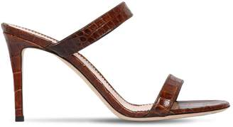 Giuseppe Zanotti Design 85mm Embossed Leather Sandals