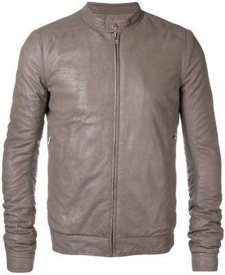 Rick Owens band collar jacket