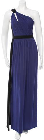 Paule KaPaule Ka Sleeveless Colorblock Gown w/ Tags