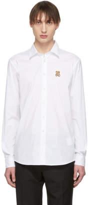 Moschino White Toy Teddy Shirt