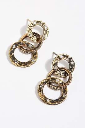 Volta Tat2 Designs Crystal Earrings
