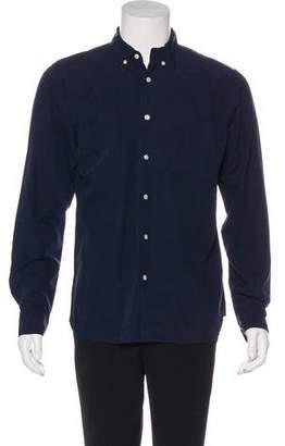Kato Woven Button-Up Shirt