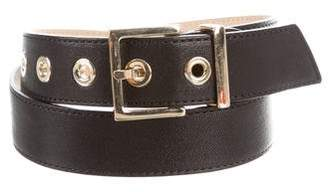 Longchamp Leather Hip Belt