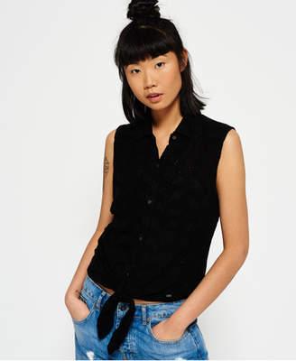 Superdry Shiffley Lace Sleeveless Shirt