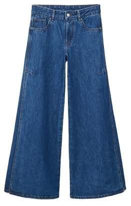 MANGO Flared Elephant jeans