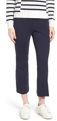 Women's Nordstrom Collection Ponte Crop Flare Leg Pants $199 thestylecure.com