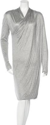 Rachel Roy Draped Long Sleeve Dress $70 thestylecure.com