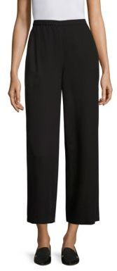Eileen Fisher Wide-Leg Ankle Pants $198 thestylecure.com