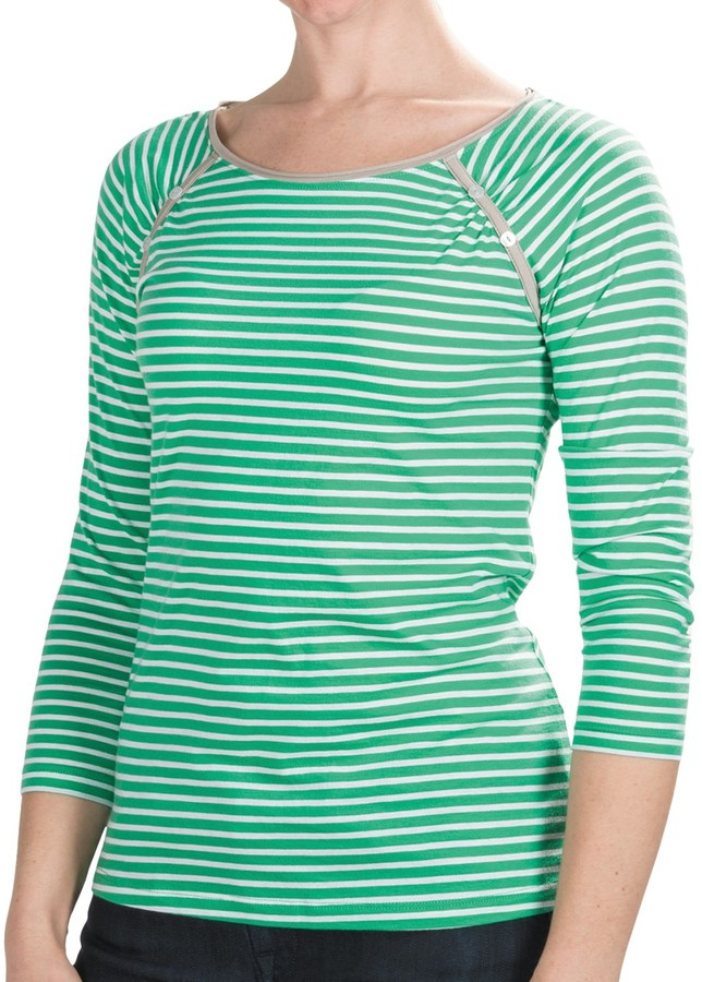 Lilla P Boat Neck Raglan Shirt (For Women)