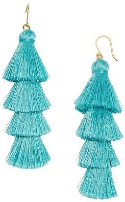 BAUBLEBAR Gabriela Fringe Drop Earrings $38 thestylecure.com