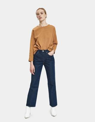 Jesse Kamm Camper Long Sleeve Top in Cork