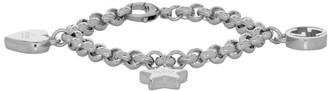 Gucci Silver Charms Bracelet