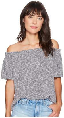 Bishop + Young Off the Shoulder Top Women's Clothing