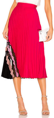 Milly Pleat Maxi Skirt