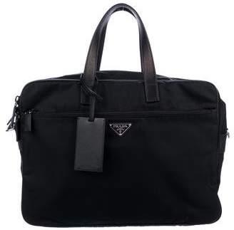 Prada Tessuto Nylon Briefcase