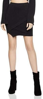 BCBGeneration Envelope-Hem Mini Skirt