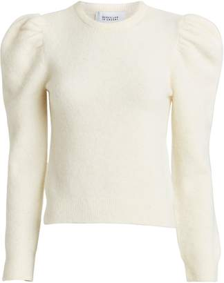 Derek Lam 10 Crosby Alpaca-Blend Puff Sleeve Sweater