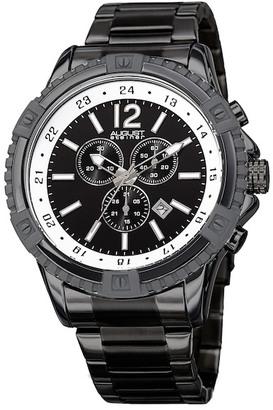 August Steiner Men's Swiss Quartz Chronograph Bracelet Watch $92.97 thestylecure.com