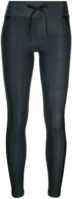 The Upside side strap print leggings