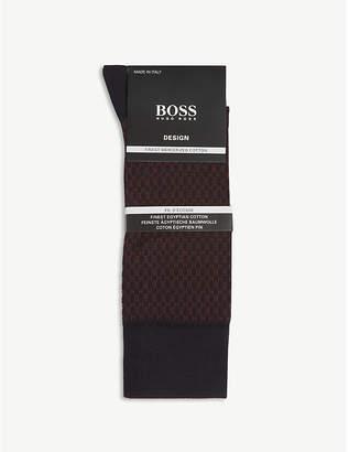 BOSS Design fil d'Ecosse cotton socks