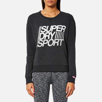 Superdry Sport Women's Lightweight Crew Neck Sweatshirt