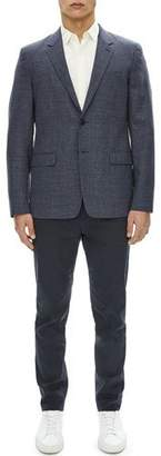 Theory Gansevoort Sartorial Basketweave Wool Blazer