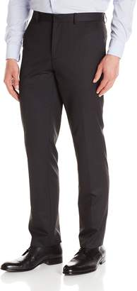 Calvin Klein Men's Slim Fit Ticking Stripe Suit Separate Dress Pant