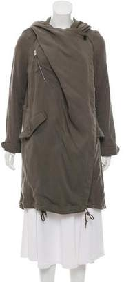 AllSaints Oversize Draped Jacket