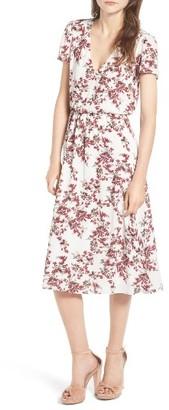 Women's Wayf Blouson Midi Dress $68 thestylecure.com