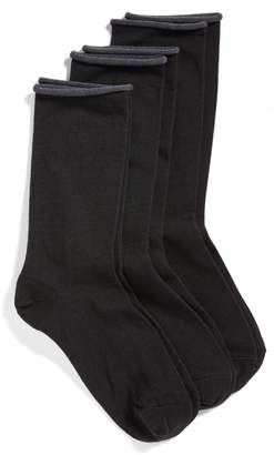 Hue Jeans 3-Pack Crew Socks