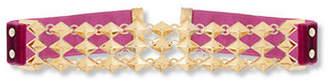 Steve Madden Interlink Stud Choker Necklace