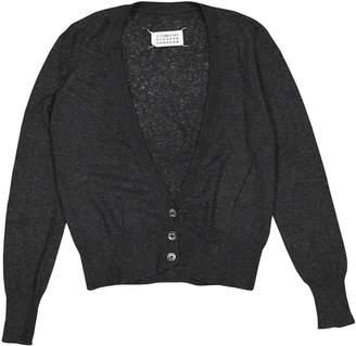 Maison Margiela Grey Wool Knitwear