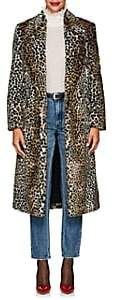 Philosophy di Lorenzo Serafini Women's Leopard-Print Faux-Fur Long Coat