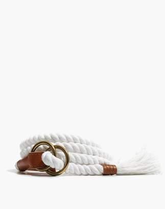 Madewell Rope Belt